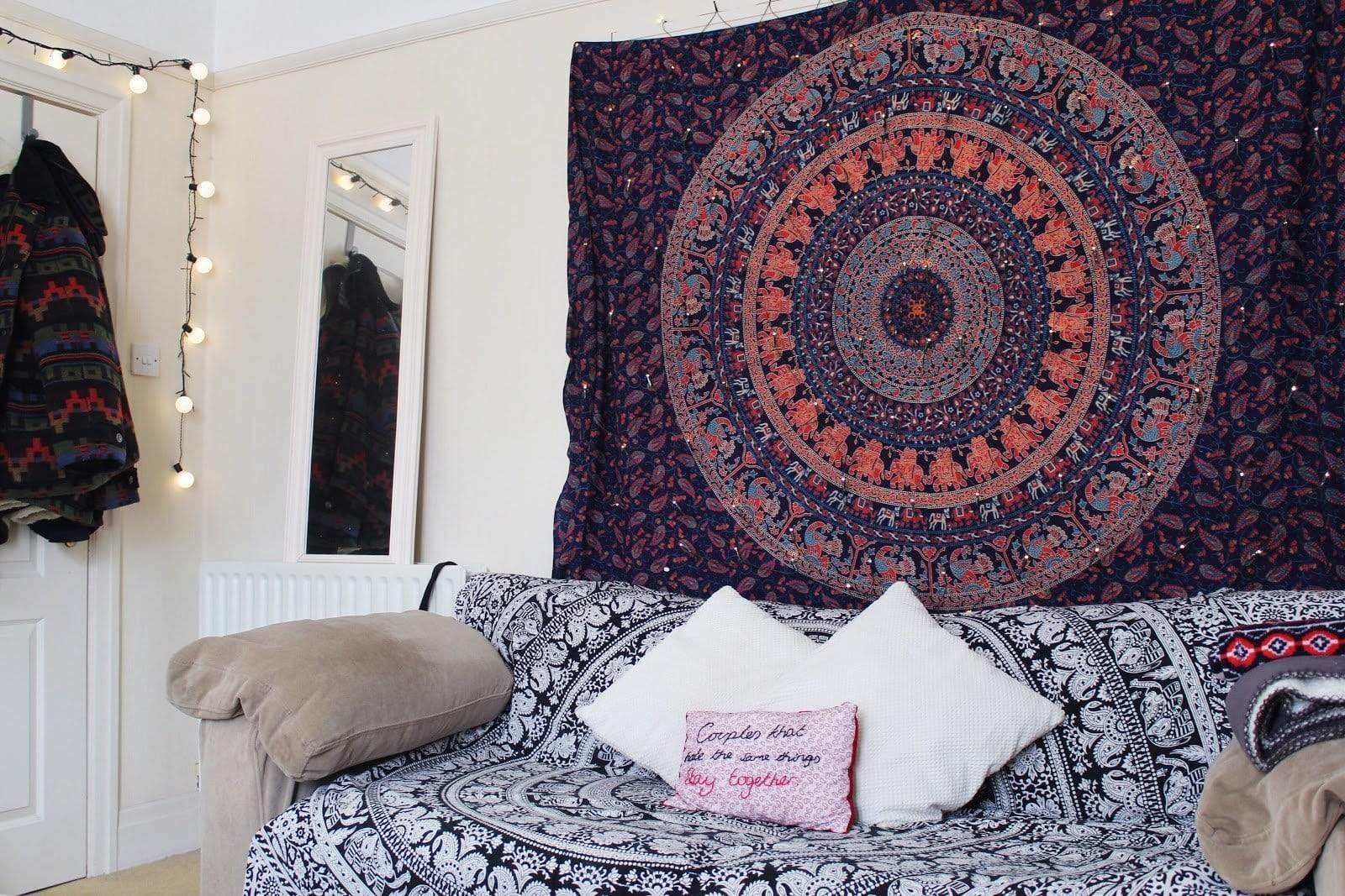 Kaleidoscope Dreams Tapestry tapestry WickedAF