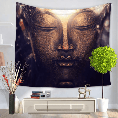 Buddha Wall Tapestry tapestry WickedAF