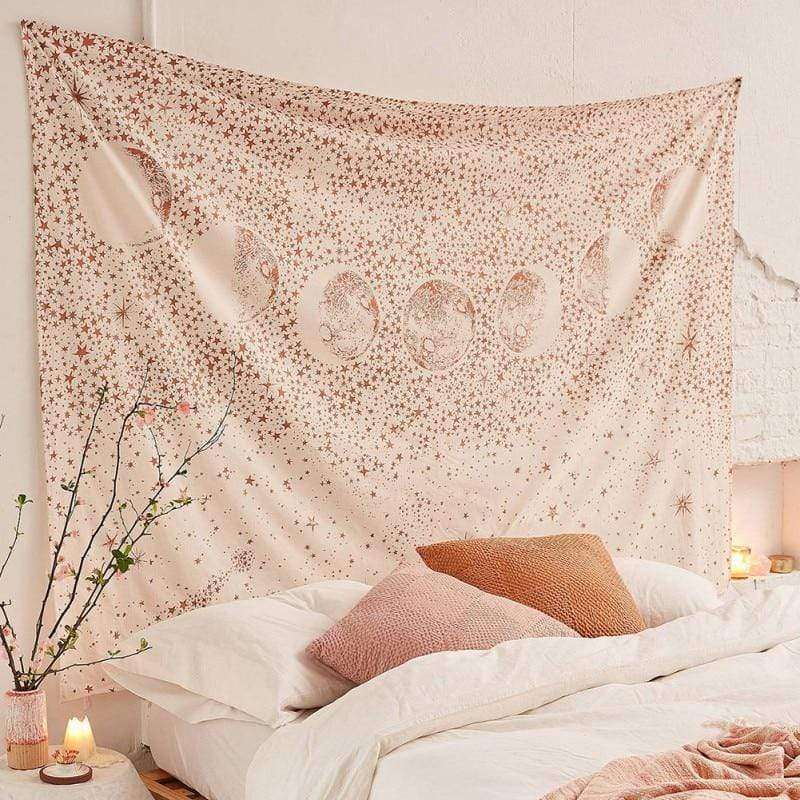 Cosmic Wall Tapestry tapestry WickedAF