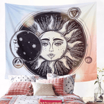 Sun and Moon Tapestry tapestry WickedAF