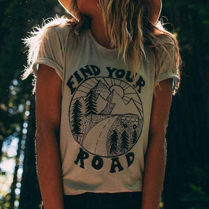 Find Your Road Tee tee WickedAF