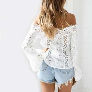 Positano Off the Shoulder Top top WickedAF