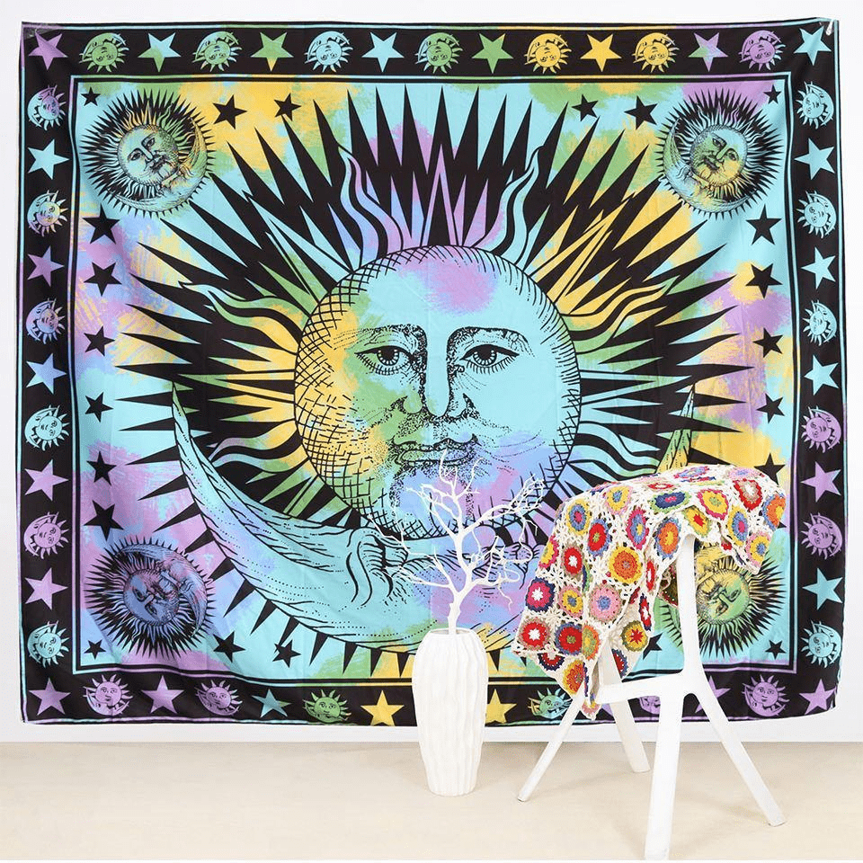 Celestial Vibes Wall Throw wall throw WickedAF