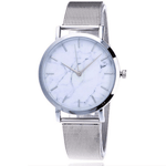 Marble Face Mesh Watch watches WickedAF
