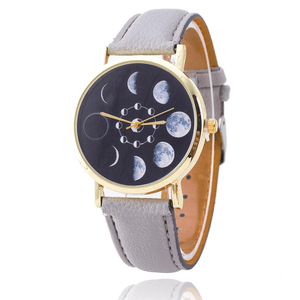 WickedAF watches Moon Phase Wrist Watch