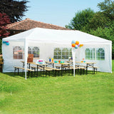 10'x10'/20'/30' Aluminum Patio Wedding Party Gazebos Outdoor Gardern Shade Pavilion Canopy Gazebo Roof Tents Cater Events
