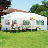 Outdoor Marquee Tent Canopy Party Outdoor Patio Wedding Tent Heavy Duty 10'x10'/20'/30'