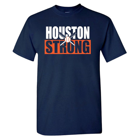 Houston Strong Crossed Bats Shirt