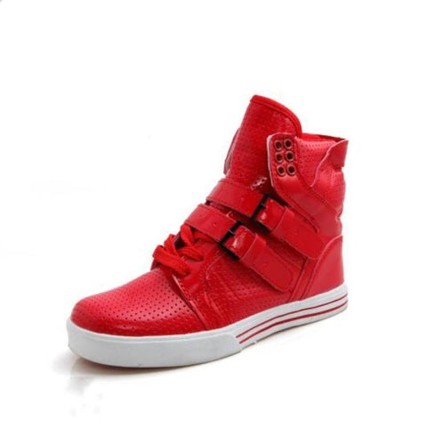 Justin Bieber famous hip hop shoes high top casual shoes ankle boots Sneakers