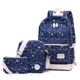 2017 Fashion Star Women Canvas Women Backpack