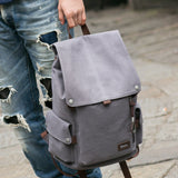 High Quality 2018 New Canvas Backpack High Capacity Travel Bag
