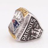 New England Super Bowl 51 World Champion Ring