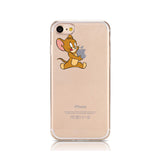 Cartoon Mickey Minnie Mouse Soft Silicone Clear Phone Case For iPhone 6 6s 6Plus 5 5s Se 7 8 X