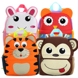 3D Animal Design School Bags For Kindergarten