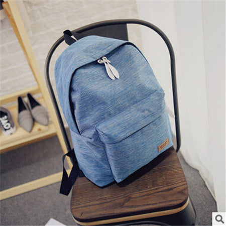 2017 Women Canvas Shoulder Backpacks