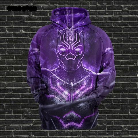 ce988bf272e4 Black Panther 3D Printing Hoodies For Men s   Women s Sweatshirts Pullovers