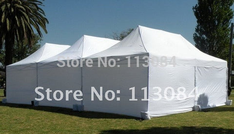Super strong 10ft x 20ft Easy-Up marquee tent for party, wedding, trade show and events