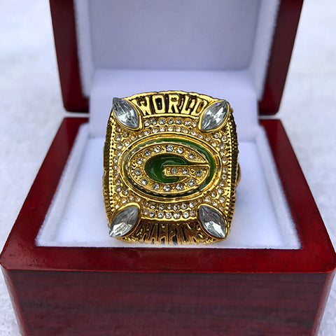 2010 gold Green Bay Packers  Super Bowl Football Champion Ring