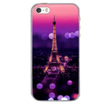 3D Pattern Cute Capa For iPhone 5S Case Silicon Cover For iPhone case