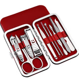 10pcs Stainless Manicure Set