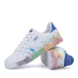 Graffiti Soft flat Footwear Breathable Sneakers