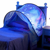Dream Tents With Light Baby Pop Up Bed Tent Foldable Playhouse For Night Sleeping And Outdoor