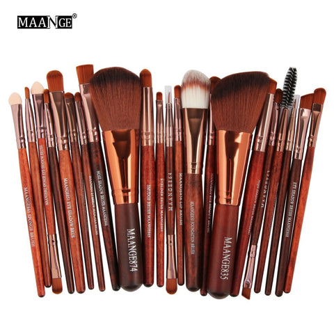 Pro 22Pcs Makeup Comestic Brushes Set
