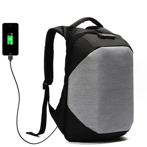 Multifunction USB Charging Travel Backpack Anti Thief 7a6f6209ac817