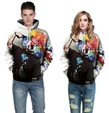 3D Clown Hooded Sweatshirt lovely Tracksuits