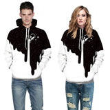 Hot Fashion Men/Women 3d Spilled Milk Space Galaxy Hoody