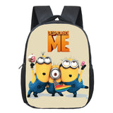 New 12 Inches Minions Kids School Bags