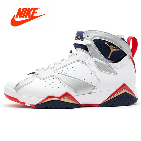 Original Nike AIR JORDAN 7 RETRO AJ7 Joe 7 Couple Models Basketball Sneakers