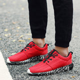 Athletic Outdoors Sneakers Breathable Mesh Lightweight Shoes