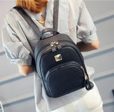 High Quality Leather Alligator Womens Backpack