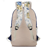Women Canvas School Backpacks for Girls