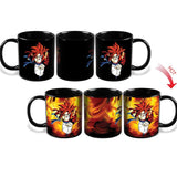 The walking dead/Star wars/Dragon Ball Z/Batman vs Superman/Captain America Magic Color Changing Mugs