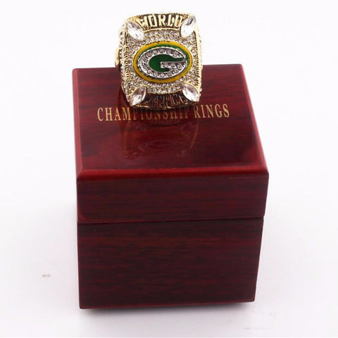High Quality Green Bay Packers Champions Rings and Wooden Boxes