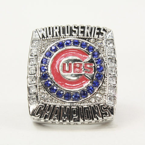Newest Design 2016 Chicago Cubs Baseball Solid Champions Ring