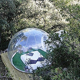 Transparent inflatable lawn bubble tent camping equipment