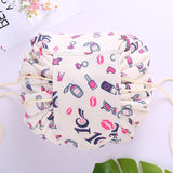Cosmetic Bag Fashion Drawstring washable Makeup Bag Organizer Makeup case
