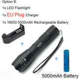 High Powered Zoomable Portable 4000LM LED Flashlight