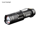 Mini LED Torch 2000LM T6 LED Focus Zoom Flashlight