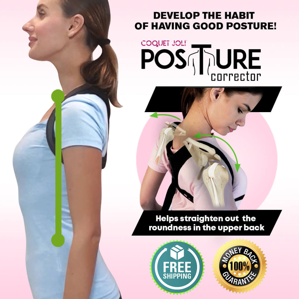 Coquet Joli™  Posture Corrector w/ Better Back Journey Guide