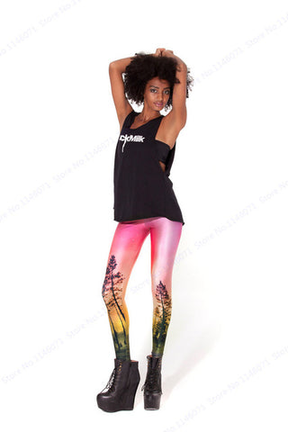 Sunset sky Legging