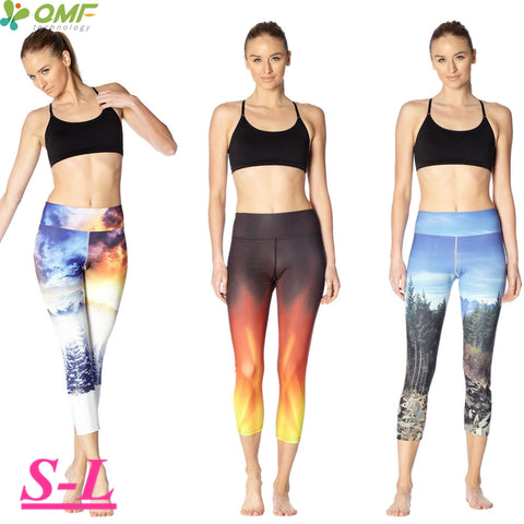 Fire & Ice, West Coast, and Katniss Fire Crop Tights