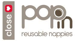 Close Popin reusable nappies