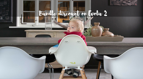Evolu2 highchair by Childwood