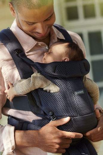 Baby Bjorn Carrier Move 3D Mesh - Anthracite | Baby Box | NZ Baby Shop