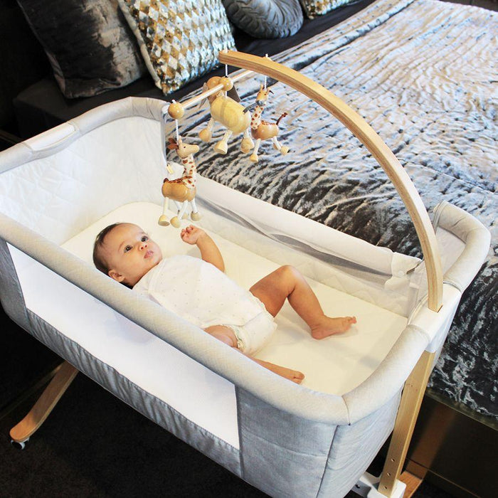 Babyhood Co-Sleeper Cradle Baby Crib | Baby Box | NZ Baby Shop