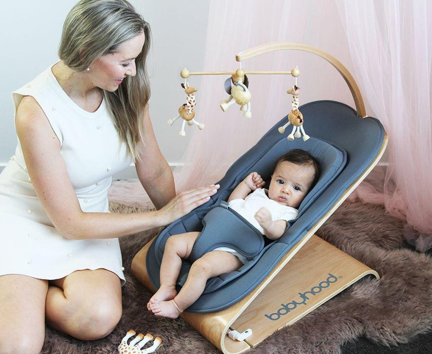 Babyhood Tommer Bouncer | Baby Box | NZ Baby Shop